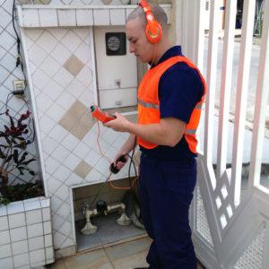 Water leak detection geophone juanjo plumbing plumber orihuela costa torrevieja vega baja costa blanca